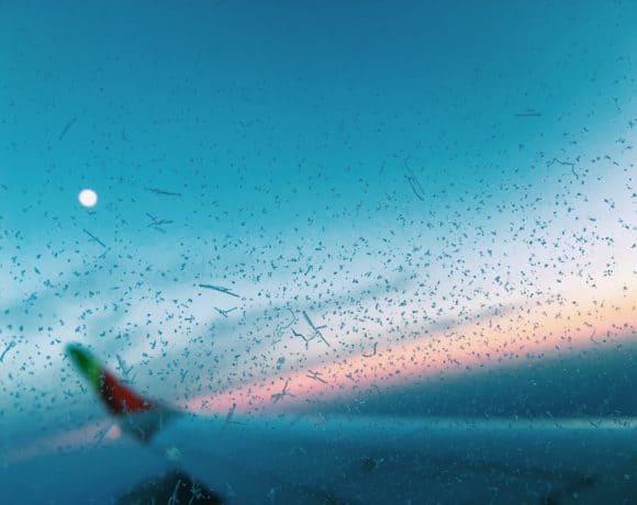 rubyandlion-flugzeug-tap-portugal-sonnuntergang
