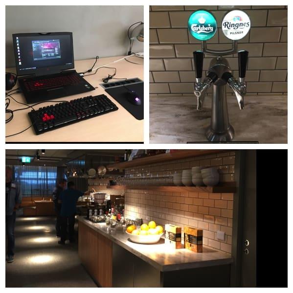 Rubyandlion Oslo Lufthafen SAS Lounge